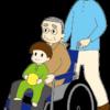 車椅子_透過